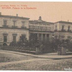 Postales: POSTAL VITORIA PALACIO DE LA DIPUTACIÓN . Lote 173014029