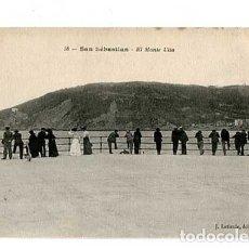 Postales: SAN SEBASTIAN EL MONTE ULIA ED. J. LATIEULE. REVERSO SIN DIVIDIR. SIN CIRCULAR. Lote 173416254