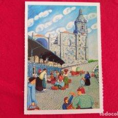 Postales: POSTAL DE BILBAO. BILBAO NAIF # 4. SAN ANTON. ED. ARGITARATZAILEA. GRUPO TRES.. Lote 173794744