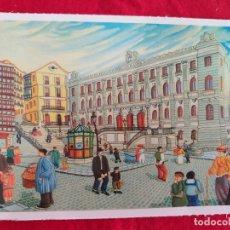 Postales: POSTAL DE BILBAO. BILBAO NAIF # 6. LA PLAZA DEL INSTITUTO. ED. ARGITARATZAILEA. GRUPO TRES.. Lote 173794938