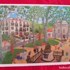 Postales: POSTAL DE BILBAO. BILBAO NAIF # 10. JARDINES DE ALBIA. ED. ARGITARATZAILEA. GRUPO TRES.. Lote 173795437