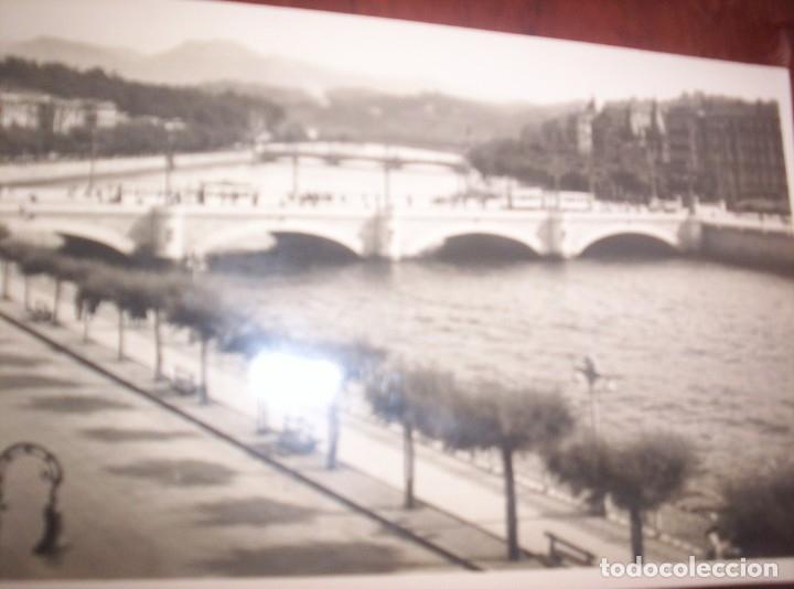 SAN SEBASTIAN - RIO URUMEA Y PUENTES (Postales - España - País Vasco Moderna (desde 1940))