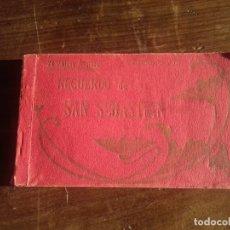 Postales: RECUERDO SAN SEBASTIÁN. 24 POSTALES ARTÍSTICAS.. Lote 173890414