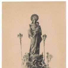 Postales: POSTAL VITORIA LA VIRGEN BLANCA . Lote 174027244