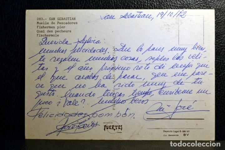 Postales: MUELLE DE PESCADORES - SAN SEBASTIAN - Foto 2 - 174246223