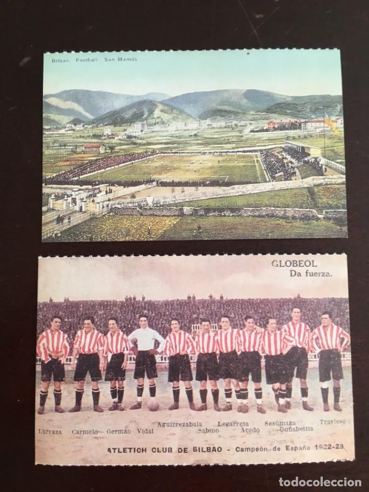 POSTALES ATHLETIC BILBAO, SAN MAMES DEIA (Postales - España - País Vasco Moderna (desde 1940))