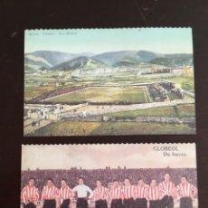 Postales: POSTALES ATHLETIC BILBAO, SAN MAMES DEIA. Lote 174409284
