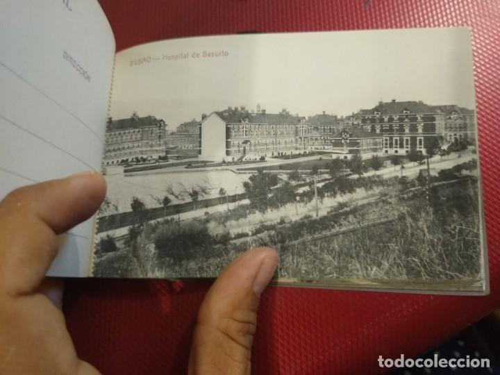 Postales: Recuerdo de Bilbao 20 tarjetas postales. Serie 2ª Papelería comercial. Mercado, Altos hornos, etc - Foto 13 - 175049834