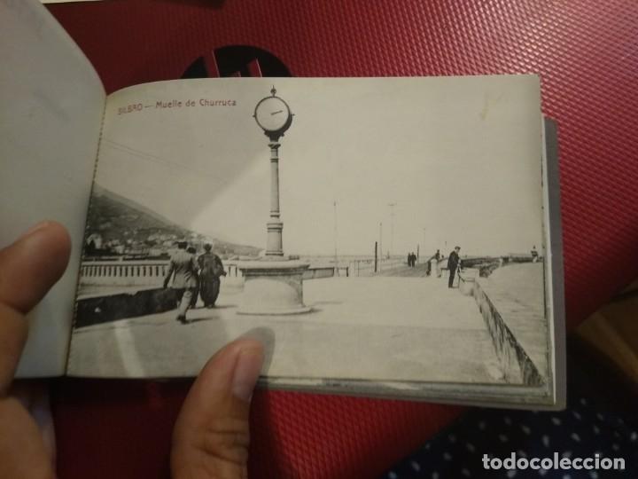 Postales: Recuerdo de Bilbao 20 tarjetas postales. Serie 2ª Papelería comercial. Mercado, Altos hornos, etc - Foto 15 - 175049834