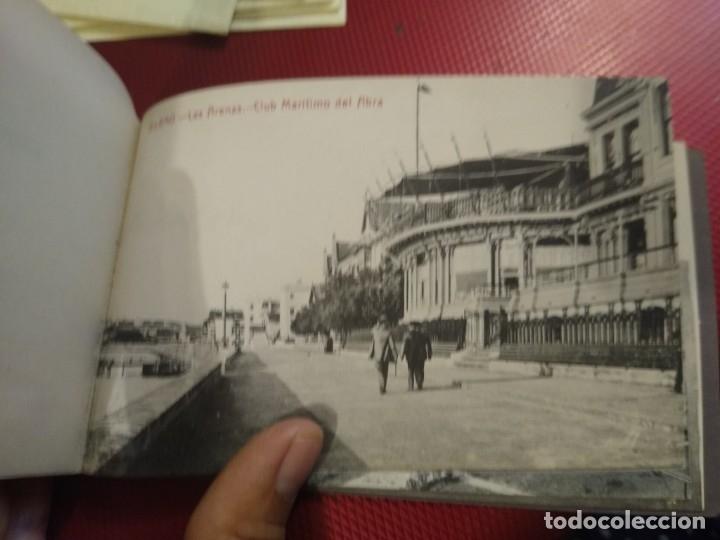Postales: Recuerdo de Bilbao 20 tarjetas postales. Serie 2ª Papelería comercial. Mercado, Altos hornos, etc - Foto 16 - 175049834