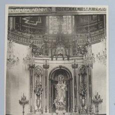 Postales: POSTAL FOTOGRAFIA . VIRGEN BLANCA. IGLESIA DE SAN MIGUEL ARCANGEL. VITORIA. SC. Lote 175200503