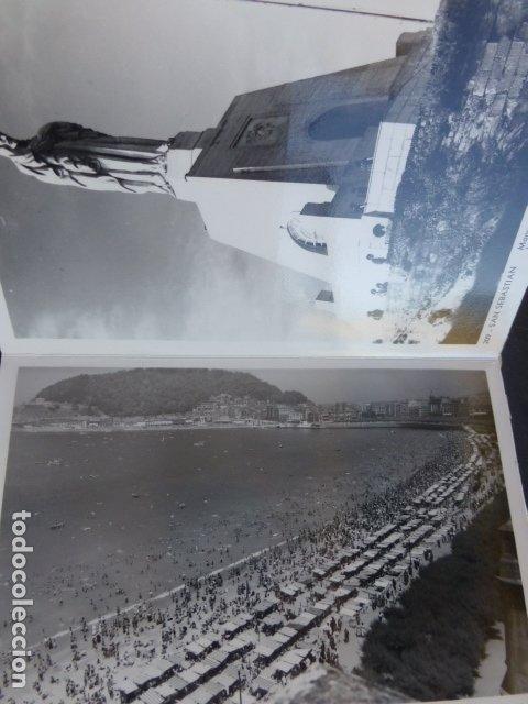 Postales: SAN SEBASTIAN CUADERNILLO CON 10 POSTALES EDICIONES AISA - Foto 4 - 175249910