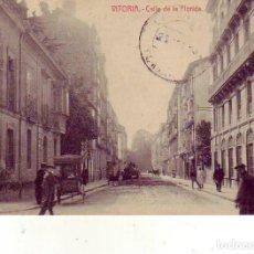 Postales: VITORIA CALLE DE LA FLORIDA. Lote 175558987