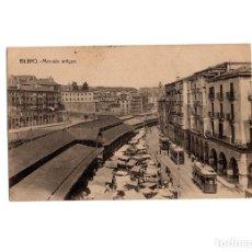 Postales: BILBAO.- MERCADO ANTIGUO.. Lote 176020033