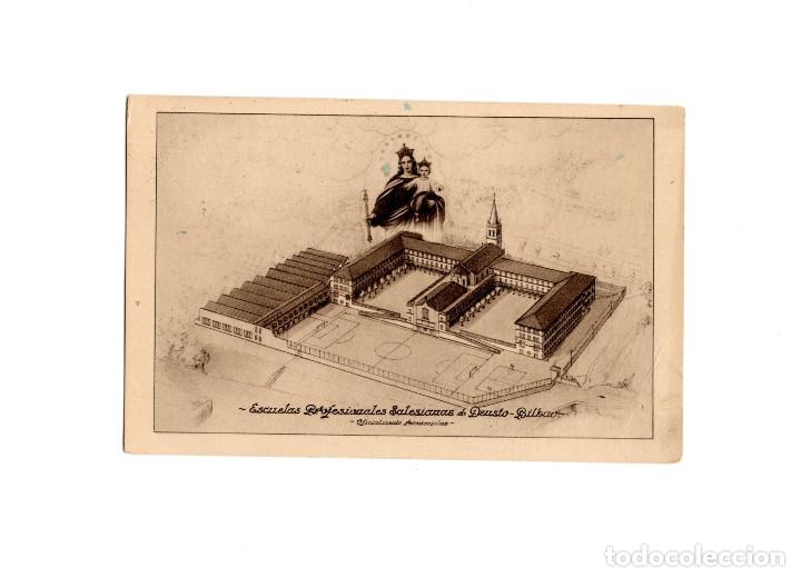 BILBAO.- ESCUELAS PROFESIONALES SALESIANAS DEUSTO (Postales - España - Pais Vasco Antigua (hasta 1939))