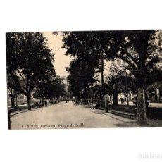 Postales: BERMEO.(BIZKAYA).- PARQUE DE ERCILLA.. Lote 176023047