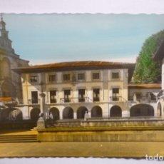 Postales: POSTAL GUERNICA -PL.FUEROS --COLOREADA. Lote 176335152