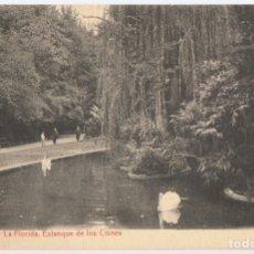 Postales: POSTAL VITORIA LA FLORIDA ESTANQUE DE LOS CISNES . Lote 176347550
