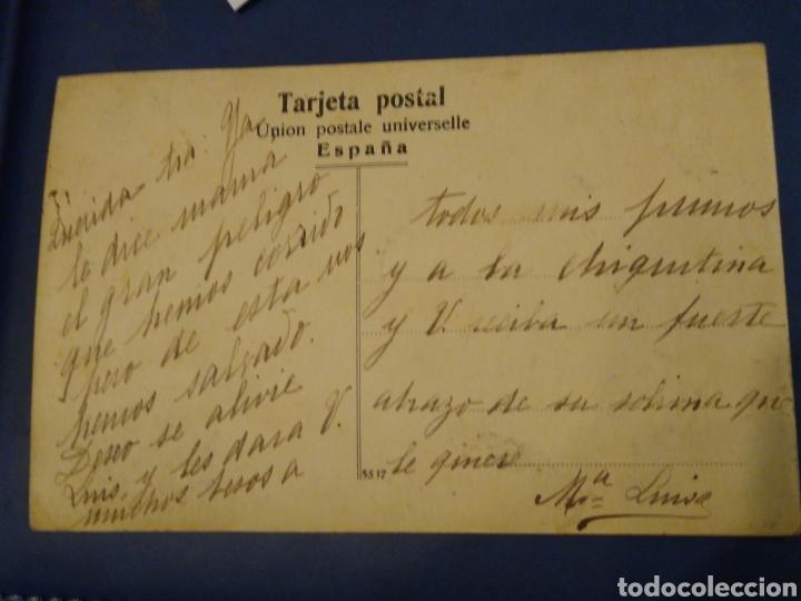 Postales: Postal fotografica. Desbordamiento o inundación Durango. Vizcaya. - Foto 3 - 176359512