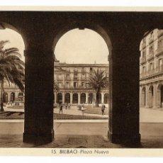 Postales: BILBAO - PLAZA NUEVA. Lote 176391624