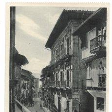 Postales: HONDARRIBIA / FUENTERRABIA - CALLE MAYOR. Lote 176600213