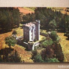 Postales: ARTEAGA (VIZCAYA) - Nº 103- CASTILLO - VISTA AEREA.. Lote 176895654