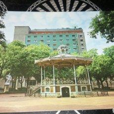 Postales: SBJ POS POSTAL VITORIA PARQUE DE LA FLORIDA KIOSKO MÚSICA ARRIBAS 50. Lote 177068868