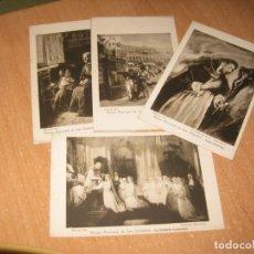 Postales: 4 POSTALES DE SAN SEBASTIAN ( MUSEO MUNICIPAL DE SAN SEBASTIAN ). Lote 177216513