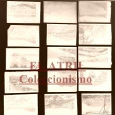 Postales: SAN SEBATIAN - 23 CLICHES ORIGINALES - NEGATIVOS EN CRISTAL - EDICIONES ARRIBAS. Lote 177377930