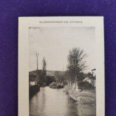 Postales: POSTAL DE VITORIA (ALAVA). ALREDEDORES DE VITORIA, PAISAJE. LIBRERÍA GENERAL. AÑO 1911.. Lote 177592649