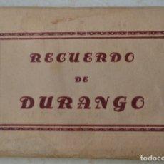 Postales: RECUERDO DE DURANGO AMBUM DE 10 TARJETAS POSTALES SIN CIRCULAR. Lote 177845397
