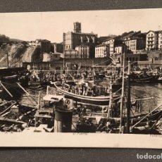 Postales: POSTAL ANTIGUA FOTOGRAFÍCA GUETARIA PUERTO . Lote 178108654