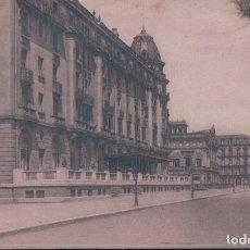Postales: POSTAL SAN SEBASTIAN - PASEO DE LA REPUBLICA ARGENTINA Y HOTEL CRISTINA - 81 GRAFOS MADRID. Lote 178235160