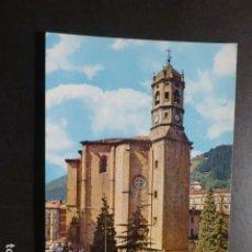 Postales: EIBAR GUIPUZCOA IGLESIA DE SAN ANDRES. Lote 178240207