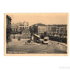 Postales: BILBAO.- PUENTE DE ISABEL II.. Lote 178249125
