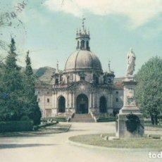 Postales: POSTAL SANTUARIO DE LOYOLA - VISTA GENERAL - FOURNIER VITORIA - IRAZU. Lote 178266723