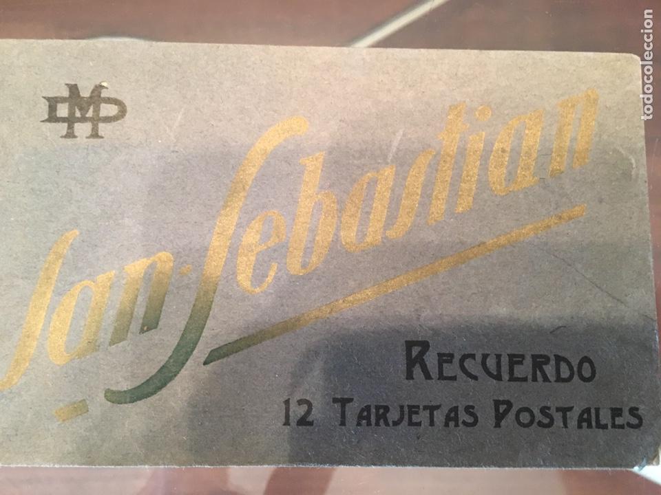 Postales: Block 12 postales completo San Sebastián - Recuerdo - Delboy - Foto 2 - 178340016