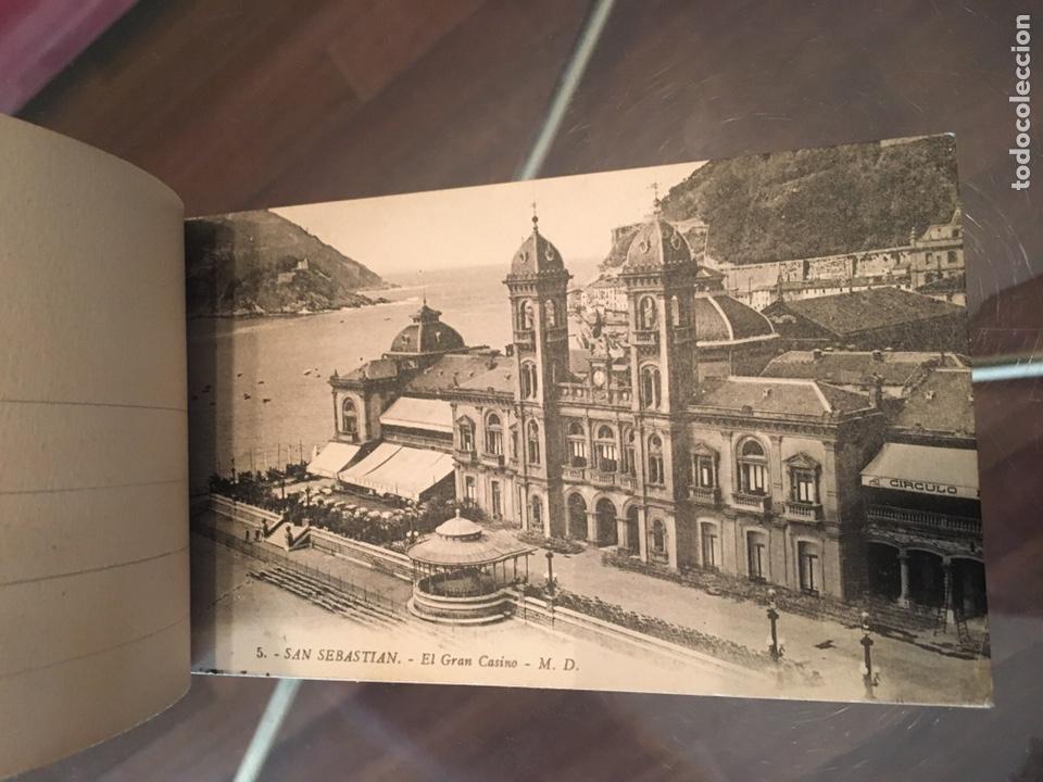 Postales: Block 12 postales completo San Sebastián - Recuerdo - Delboy - Foto 5 - 178340016