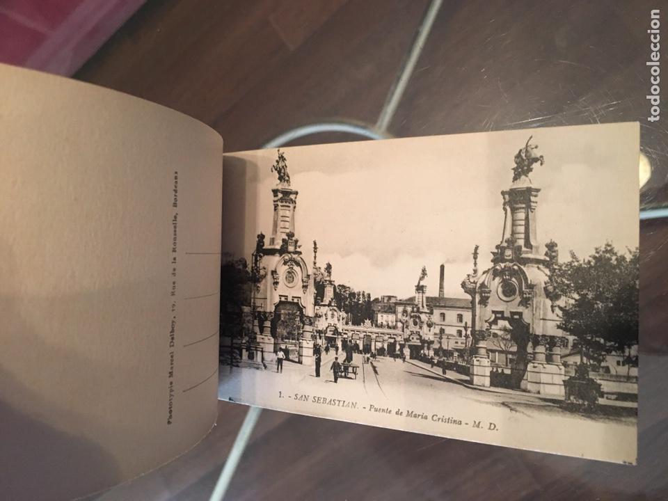 Postales: Block 12 postales completo San Sebastián - Recuerdo - Delboy - Foto 7 - 178340016
