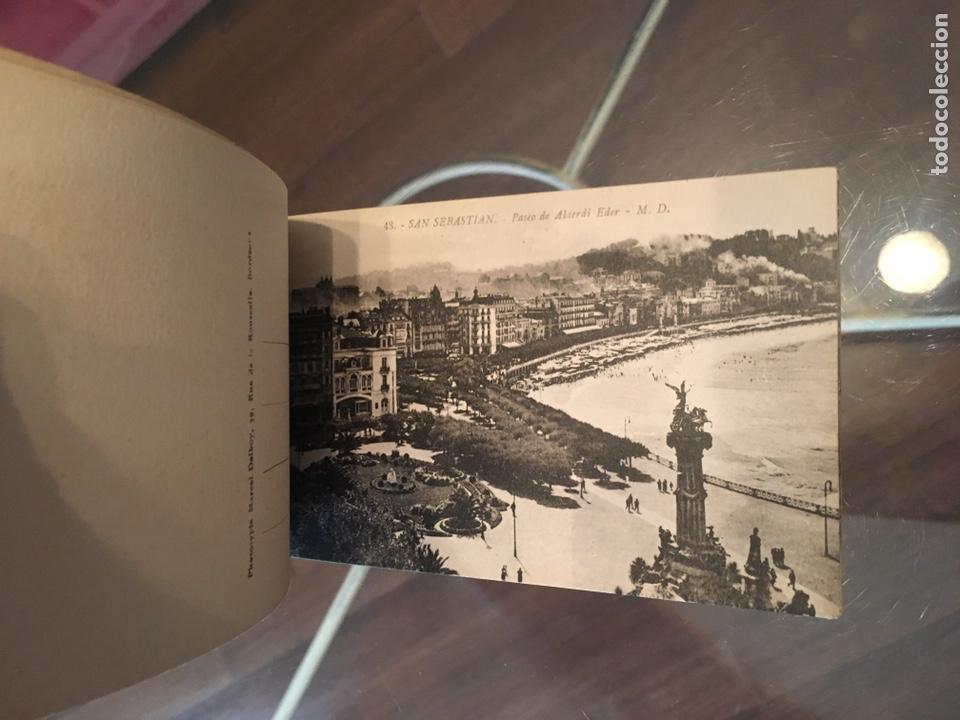 Postales: Block 12 postales completo San Sebastián - Recuerdo - Delboy - Foto 8 - 178340016