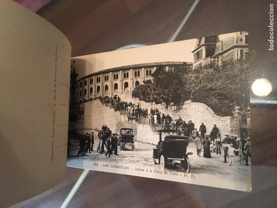 Postales: Block 12 postales completo San Sebastián - Recuerdo - Delboy - Foto 10 - 178340016