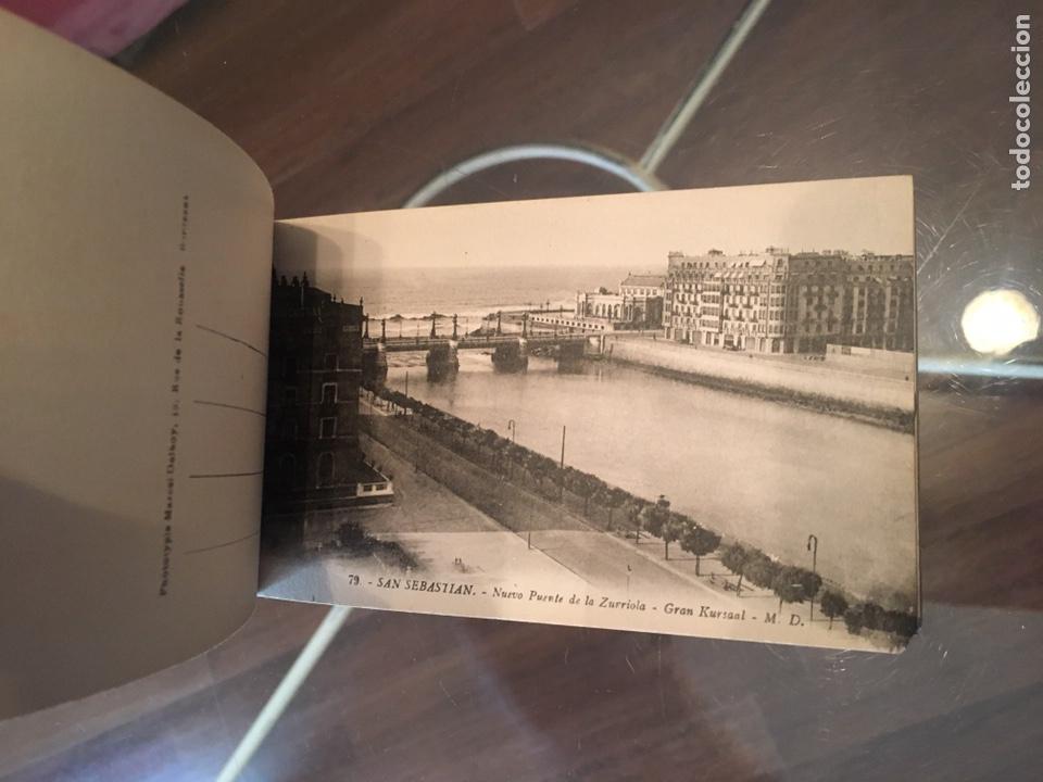 Postales: Block 12 postales completo San Sebastián - Recuerdo - Delboy - Foto 11 - 178340016