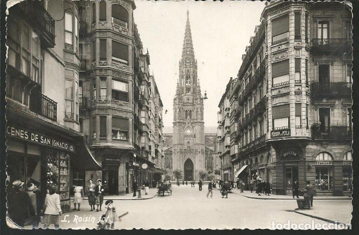 POSTAL SAN SEBASTIAN, CALLE LOYOLA - FOTO L. ROISIN (Postales - España - País Vasco Moderna (desde 1940))