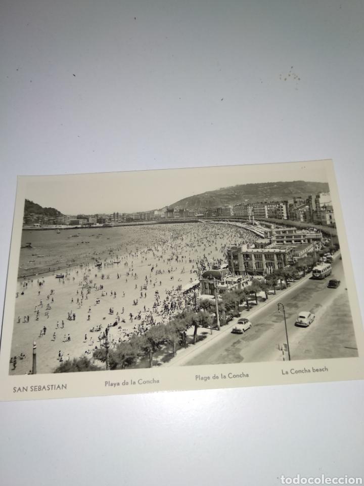 POSTAL DE SAN SEBASTIÁN. AÑOS 50. (Postales - España - País Vasco Moderna (desde 1940))
