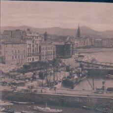 Postales: POSTAL DE SAN SEBASTIAN. EL PUERTO. ED. GRAFOS 88. Lote 178686218