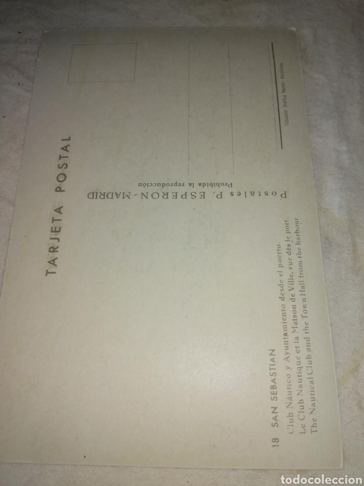 Postales: Postal de San Sebastián. Años 50 - Foto 2 - 178709227