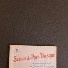 Postales: (TEMA VASCO) LE TANNER, JACQUES. SCÈNES DU PAYS BASQUE. CARTES . POSTALES DE GRAN LUJO.. Lote 178789361