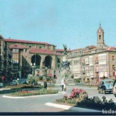 Postales: POSTAL VITORIA - PLAZA DE LA VIRGEN BLANCA - 33 GARRIDO - CIRCULADA. Lote 178824946