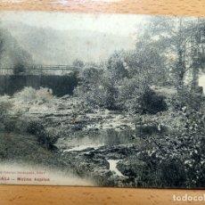 Cartes Postales: URBERUAGA . MOLINO ASPILSA . PROPIEDAD CEFERINO SARASQUETA. EIBAR. Lote 178948467