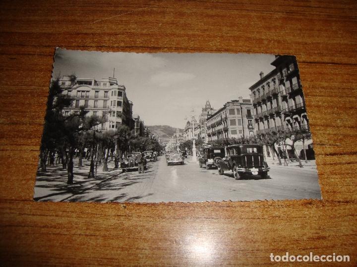 (ALB-TC-202) POSTAL SAN SEBASTIAN AVENIDA DE ESPAÑA (Postales - España - País Vasco Moderna (desde 1940))